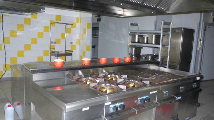 Cuisine de la MFR de Castelmoron, Lot-et-Garonne 47